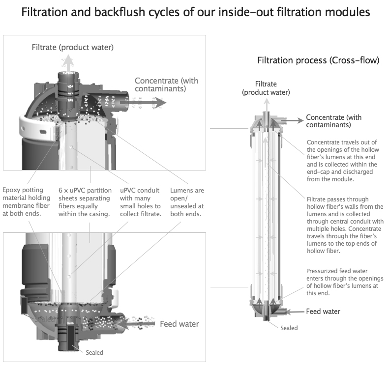 filtration and backflush